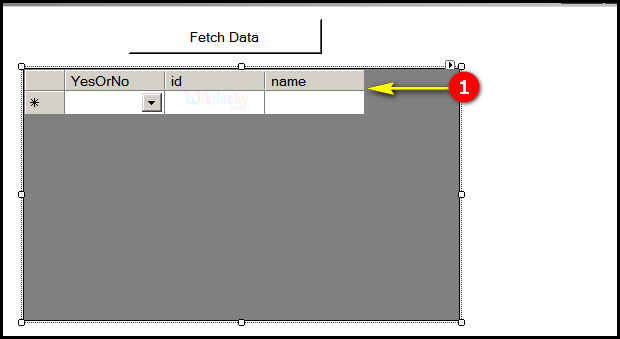 c-sharp add column fetchdata