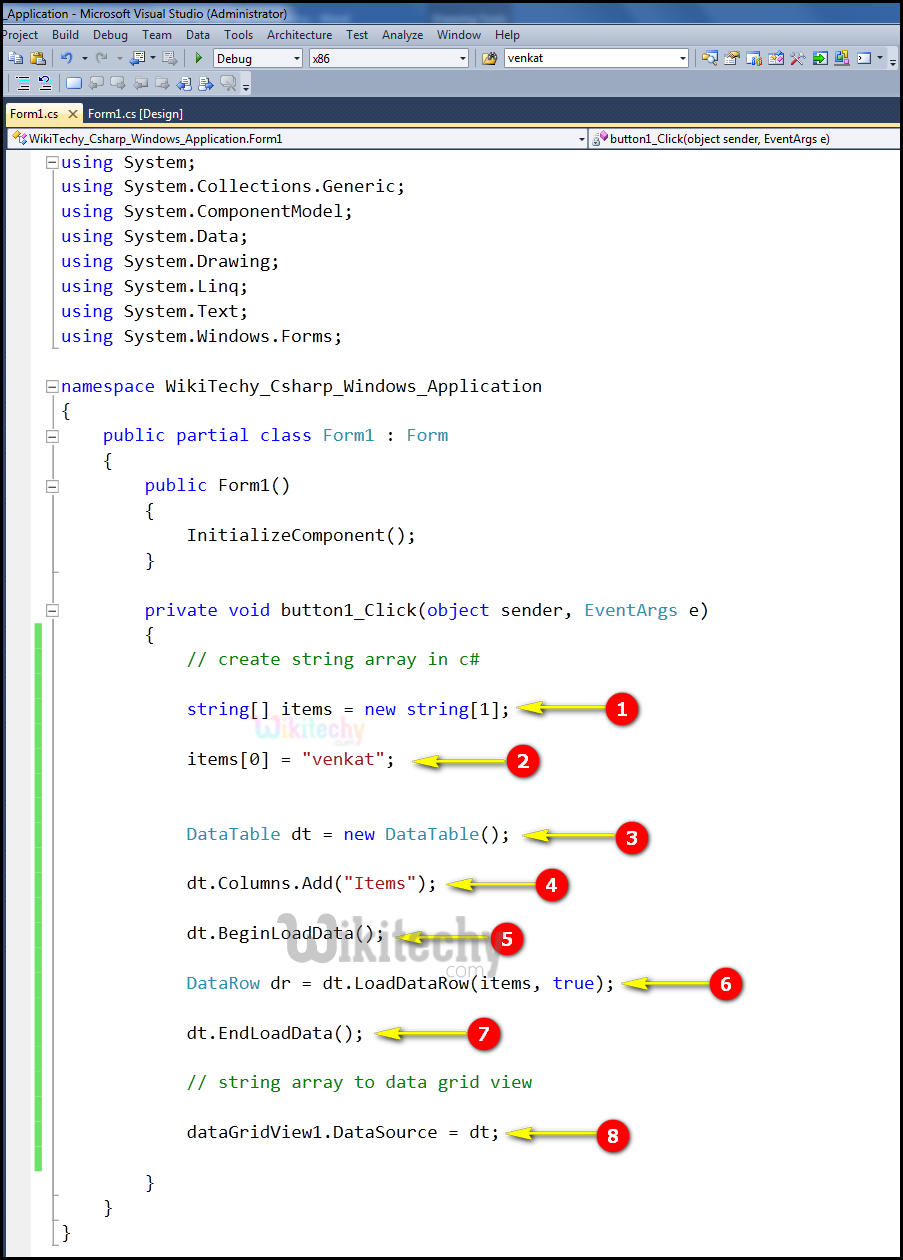 C# Datagridview | C# Controls Datagridview - By Microsoft Award MVP