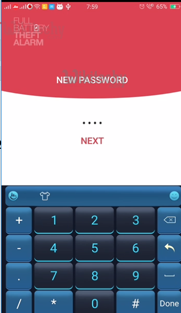 mobile hacking alarm password