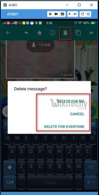 whatsapp hack delete for everyone feature