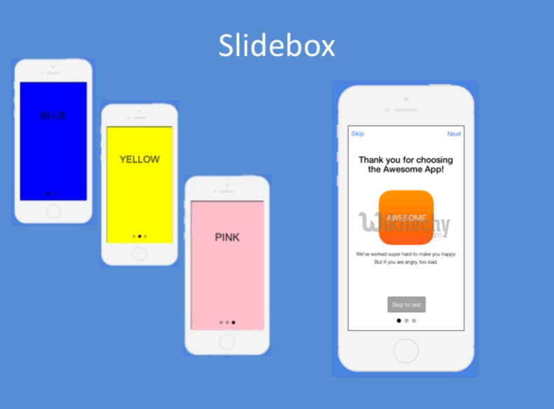 ionic tutorial - Ionic Slider | Ionic - JavaScript Slide Box