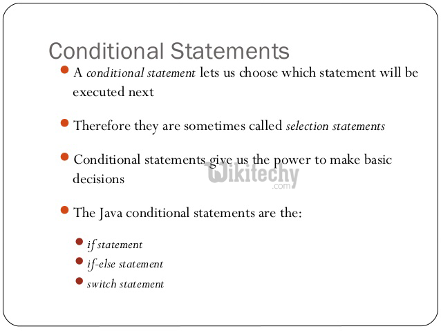 Conditional Statements in Java - By Microsoft Awarded MVP - Learn in