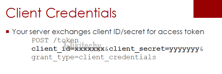 oauth tutorial - OAuth Client Credentials - By Microsoft