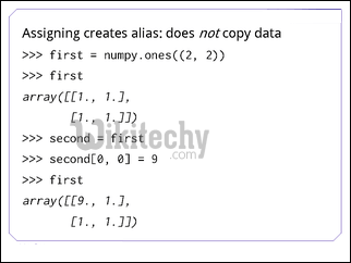 assigning creates alias