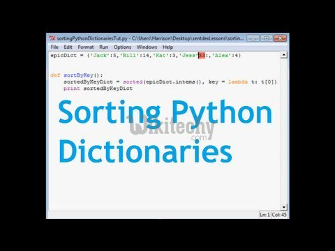sort-dictionary
