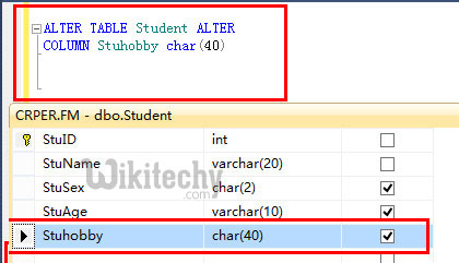 Alter Table Alter Column.jpg  sc 1 st  Wikitechy & alter table add column | modify column syntax in sql - sql - sql ...